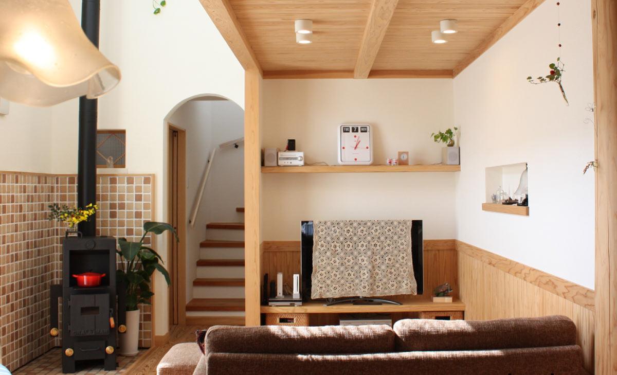 木の香あふれる家