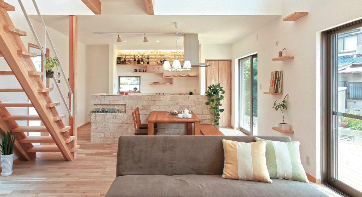 単なる健康住宅ではない、夏も冬も快適な家。
